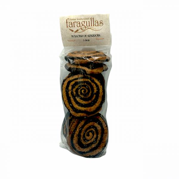 Bolachas artesanas de algarroba