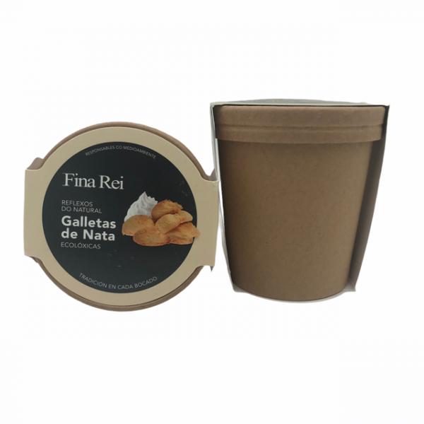 Galletas de nata ecológicas, unas pastas gallegas elaboradas por Fina Rei