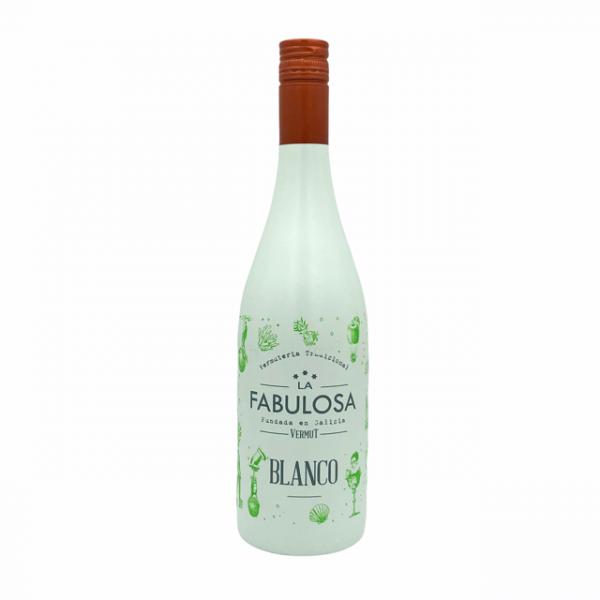 Vermut blanco La Fabulosa elaborado en Galicia