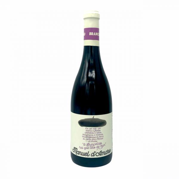 Vino tinto Brancellao, de la línea gourmet de Manuel d'Amaro